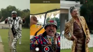 Watch! Kapil Dev's hilarious imitation of Ranveer Singh in a new CRED commercial
