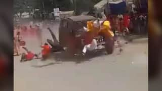 1 dead, 16 injured as car rams through a religious procession in Chhattisgarh