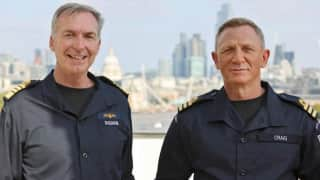 Commander Craig: 007 star Daniel Craig made honorary Royal Navy officer