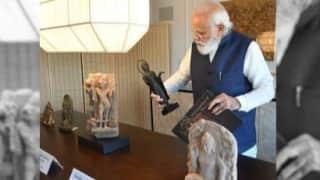 अमेरिका ने PM MODI को गिफ्ट कीं 157 बेशकीमती मूर्तियां, कभी चोरी और तस्करी के जरिए गईं थी देश से बाहर