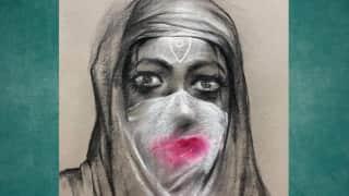 Row over Kolkata artist's 'goddess in burqa' painting ahead of Durga Puja