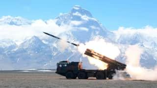 China deploys MLRS