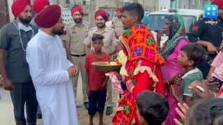 फिर सुर्खियों में पंजाब CM- अचानक एक शादी समारोह में पहुंच नवविवाहित जोड़े को दी मुबारकबाद