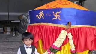 Laddu of 1100kg for Ganesha