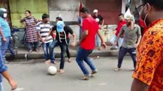 Bharat Bandh: খেলা হবে' স্লোগান ছিল দিদির, কিন্তু বনধের দিন মাঠে নামল রেড ব্রিগেড, হলটা কী?
