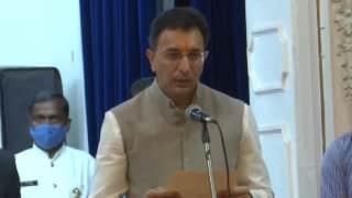 Uttar Pradesh Cabinet expansion: Jitin Prasada sworn in as minister in Yogi govt