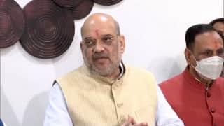 Shah in J&K: जम्मू-कश्मीर के 3 दिवसीय दौरे पर पहुंचे गृहमंत्री शाह, सुरक्षा व्यवस्था की करेंगे समीक्षा