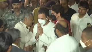 Gandhis meet kin of victims