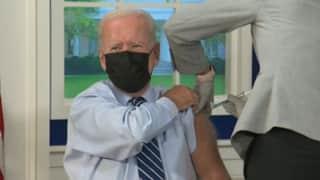 Booster Shot: अमेरिका के राष्ट्रपति जो बाइडेन ने लिया COVID वैक्सीन का बूस्टर शॉट, लोगों से की ये अपील