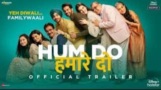 Hum Do Hamare Do Trailer : मां-बाप गोद लेंगे राजकुमार राव और कृति सेनन