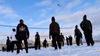Watch: Indian, U.S. soldiers indulge in snow fight during joint drill in Alaska