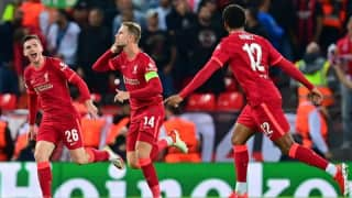 Champions League: Liverpool come from behind to beat AC Milan in a thriller