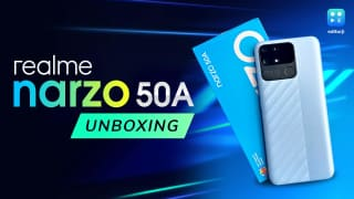 Realme Narzo 50A unboxing and first impressions: Helio G85 on a budget!
