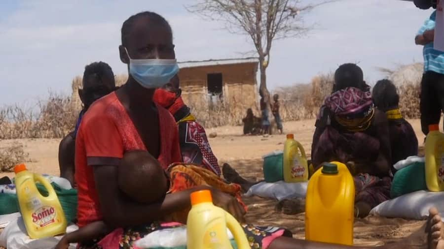 2.1 million Kenyans starving to death as disastrous drought continues