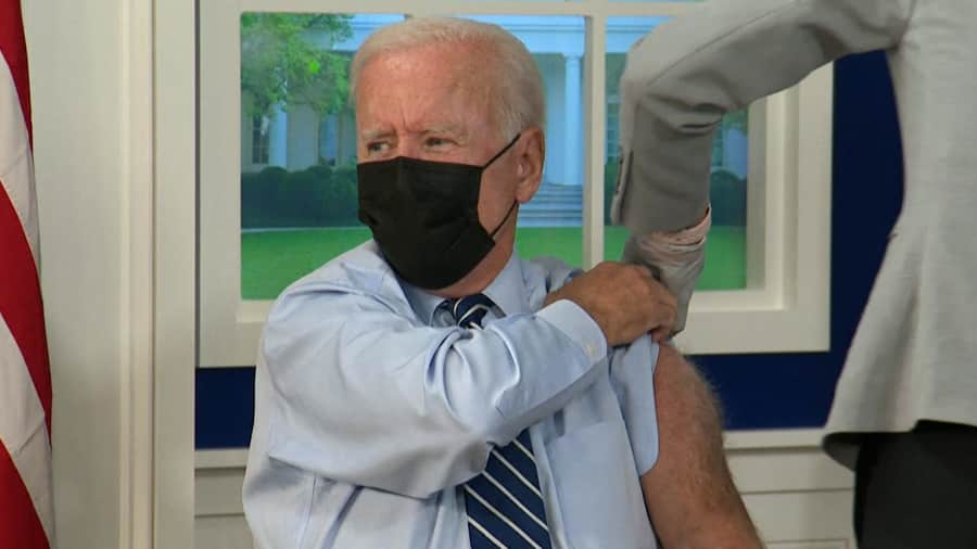 Joe Biden gets Covid booster shot, WHO wants US to stop 3rd dose