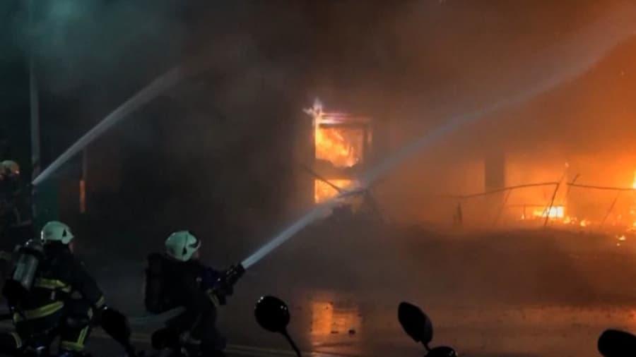 Taiwan Fire: তাইওয়ানে ভয়াবহ আগুন, মৃত অন্তত ৪৬, দেখুন ভিডিয়ো!