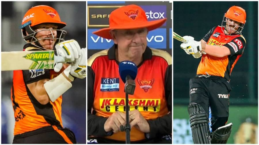 IPL 2021: Warner's cryptic comment after Sunrisers drop former captain, asked to stay in the hotel