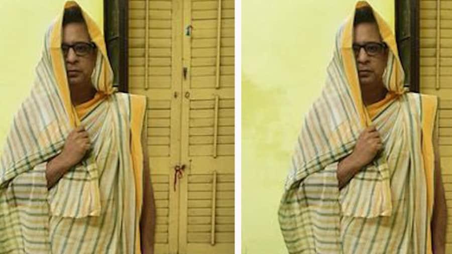 Rupankar Bagchi: তাঁতের শাড়িতে রুপঙ্কর! নেটিজেনদের প্রশ্ন, 'এ তুমি কেমন তুমি'?