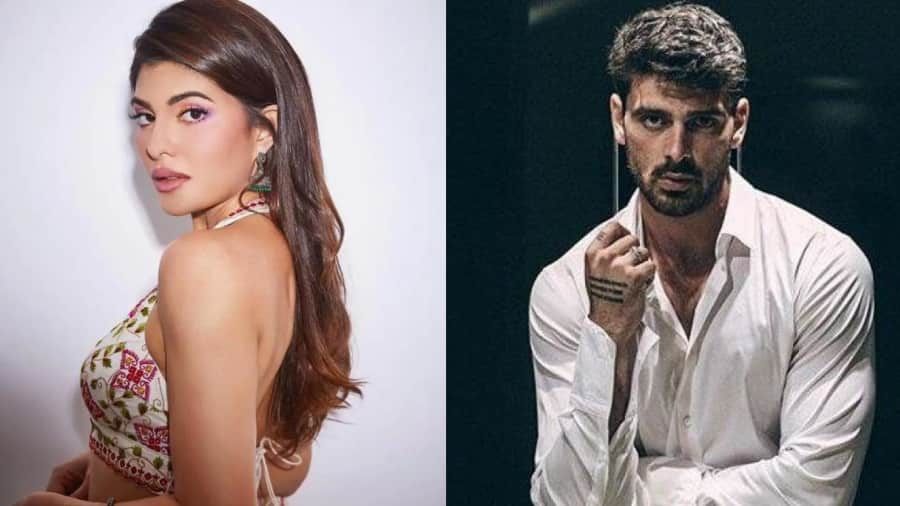 Jacqueline Fernandez shoots with '365 Days' star Michele Morrone and fans are gushing