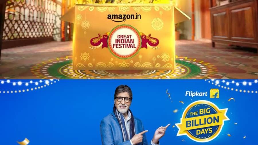 Amazon vs Flipkart: বছরের সেরা সেলে কে কাকে টেক্কা দেবে? আম্যাজন, না ফ্লিপকার্ট