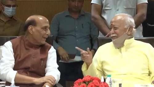 Mahatma Gandhi asked Veer Savarkar to file mercy petition: Rajnath Singh