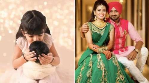 GeetaBasra & Harbhajan Singh reveal baby boy's name, share his pic