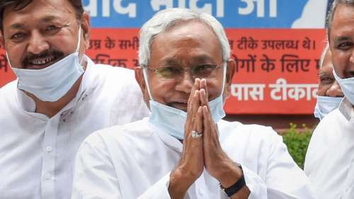Here's what Nitish Kumar said after his party's 'PM material' pitch