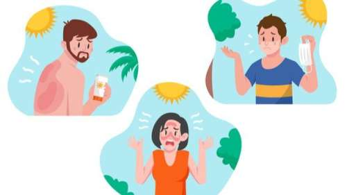 Got a Sunburn? Make sure you avoid doing these things!
