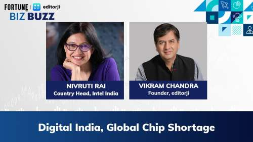 On Biz Buzz| Intel Exclusive on Global Chip shortage and Digital India's role in the tech revolution