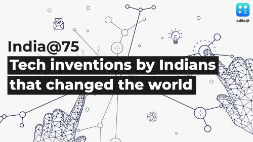 India@75: Top 4 tech inventions by Indians that changed the world