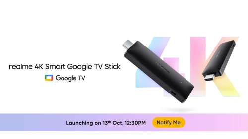 Realme 4K Smart Google TV Stick launched in India: check specs, features