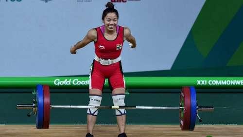 Mirabai Chanu wins silver