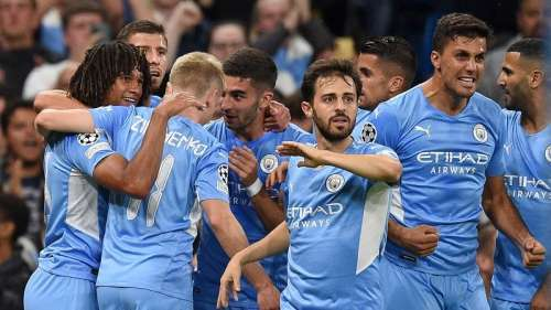 Champions League: Manchester City beat RB Leipzig in a goal fest