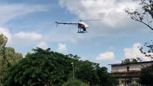 Fighting with drones: watch India deliver Covid vaccine to remote parts from the skies