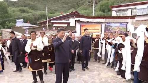 Xi Jinping in Tibet: चीनी राष्ट्रपति जिनपिंग ने किया तिब्बती शहर का दौरा, ब्रह्मपुत्र का किया निरीक्षण