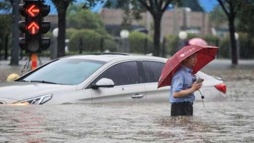 Heaviest rain in 1000 years