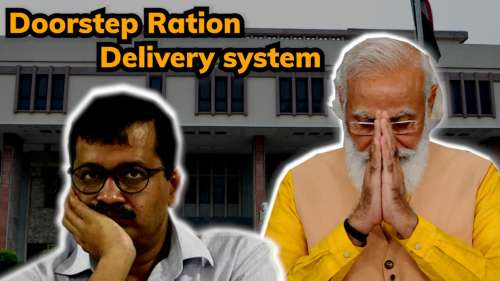 What is Delhi govt's doorstep ration delivery system? Why is Centre not approving it?