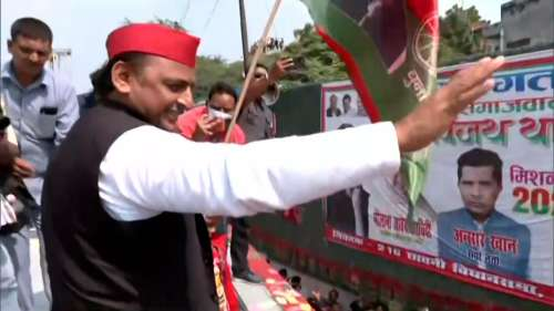 UP Election 2022: Akhilesh kickstarts 'Vijay' yatra, BJP slams '5-star' rath