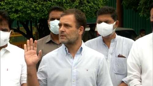 'All my phones are tapped': Rahul Gandhi on Pegasus snooping row
