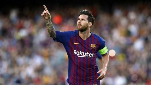 Messi set to sign 5-year Barcelona deal and accept wage cut: reports