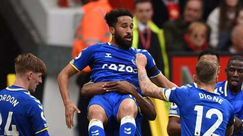 Premier League: Everton held Manchester United to a 1-1 draw at Old Trafford
