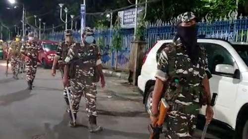 West Bengal Bypoll: ভবানীপুরে টহল শুরু কেন্দ্রীয় বাহিনীর