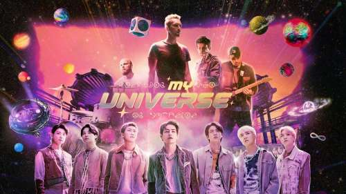 Coldplay and BTS channel their inner space geeks for video of 'My Universe'
