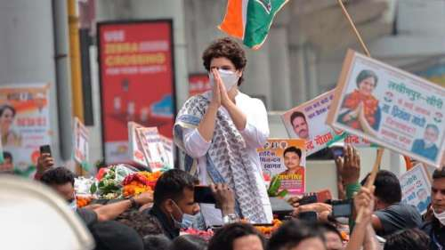 2022 UP polls: Congress starts prep with a silent protest & silence over the party's CM face
