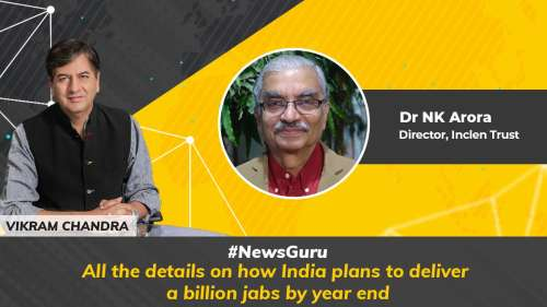 On News Guru  What is the vaccine scale up plan looking like?