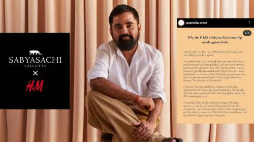Designer Sabyasachi's H&M collaboration courts controversy before release