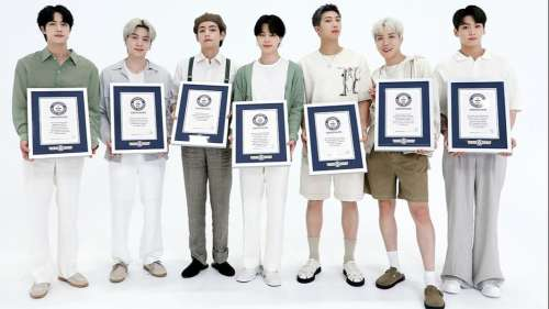 Jaw-dropping feat! BTS enter Guinness Hall of Fame with a whopping 23 world records