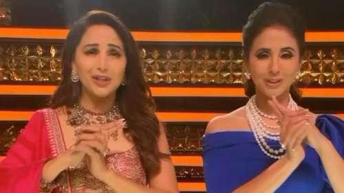 Viral Video: माधुरी ने उर्मिला मातोंडकर संग किया 'तू शायर है' गाने पर डांस