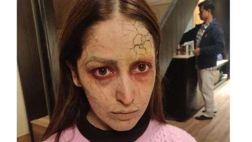 Bhoot Police Making Video: यामी गौतम ऐसे बनीं भूत,  3 घंटे में होता था मेकअप