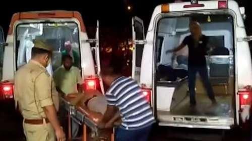 Uttar Pradesh: 18 killed after speeding truck hits bus in Barabanki, many injured